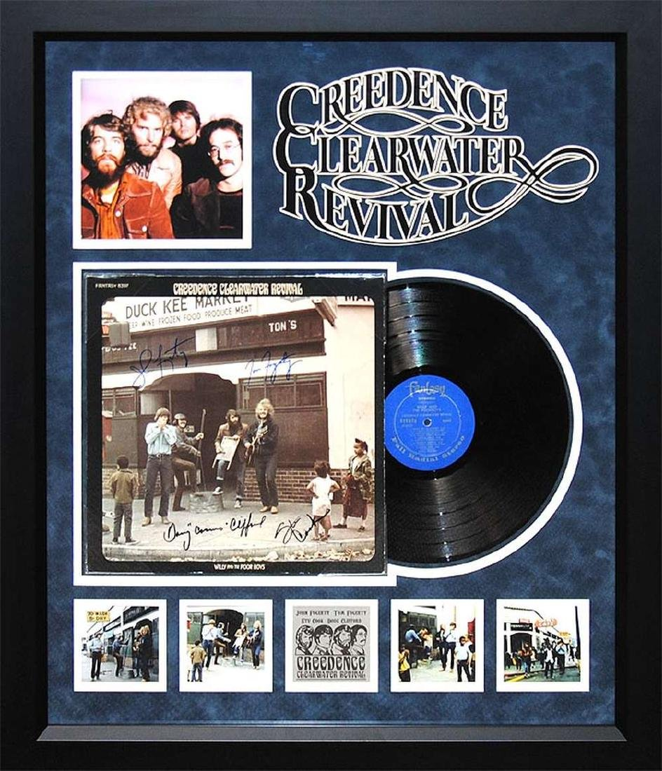 CCR Signed Willie & The Poor Boys Album