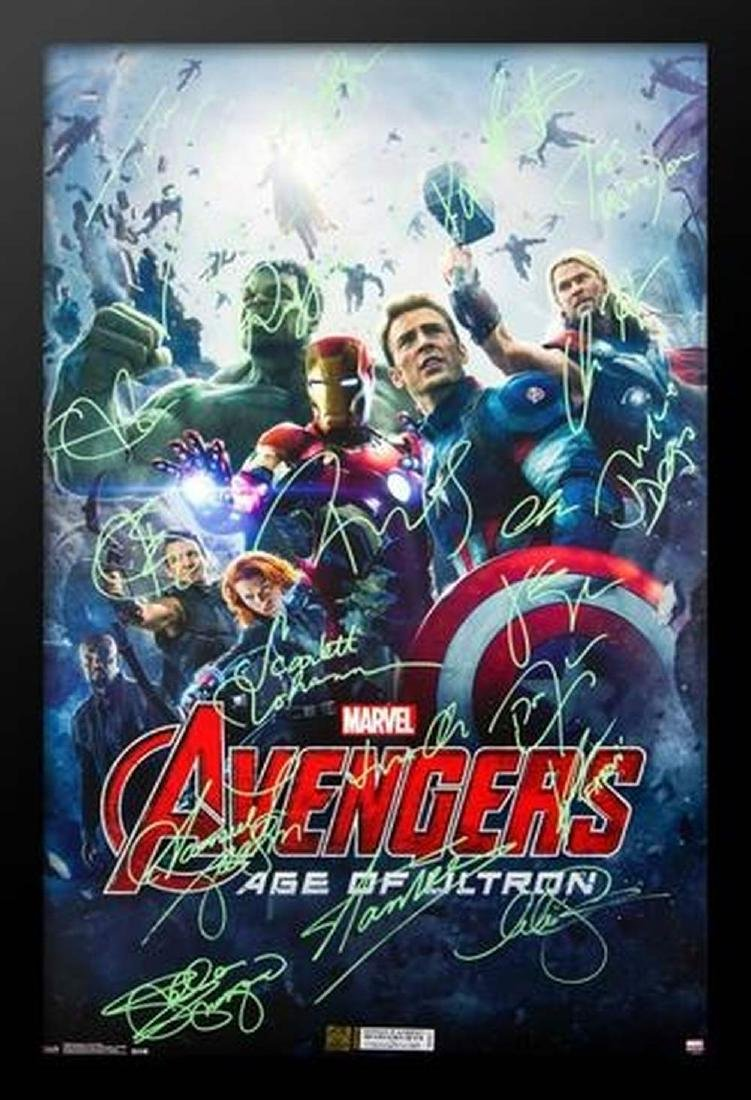The Avengers - Age of Ultron - Signed Movie Poster