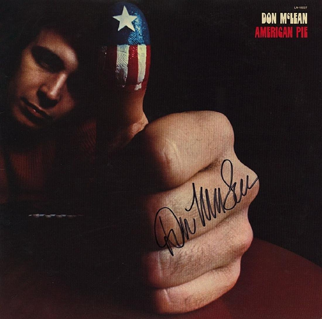 "Don McLean ""American Pie"" Album"