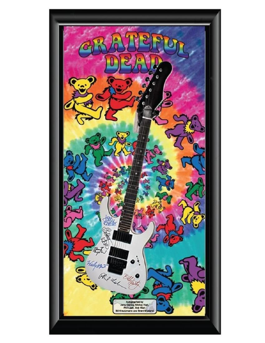 """Grateful Dead """"Signed and Framed"""" Guitar"""