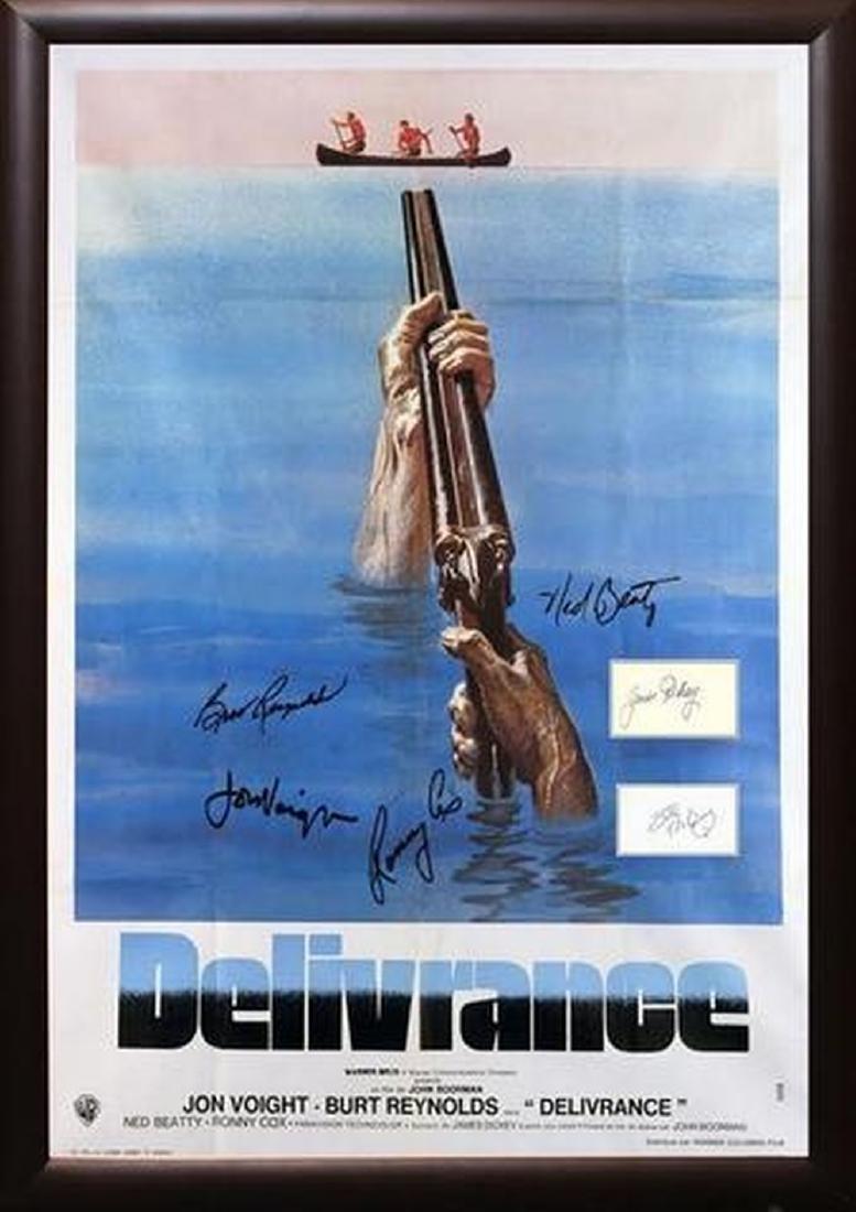 Deliverance - Signed Movie Poster