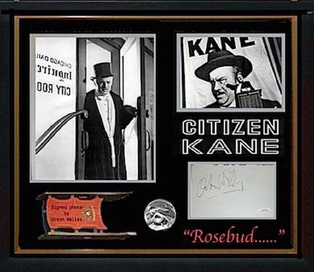 Orson Wells Citizen Cane Collage