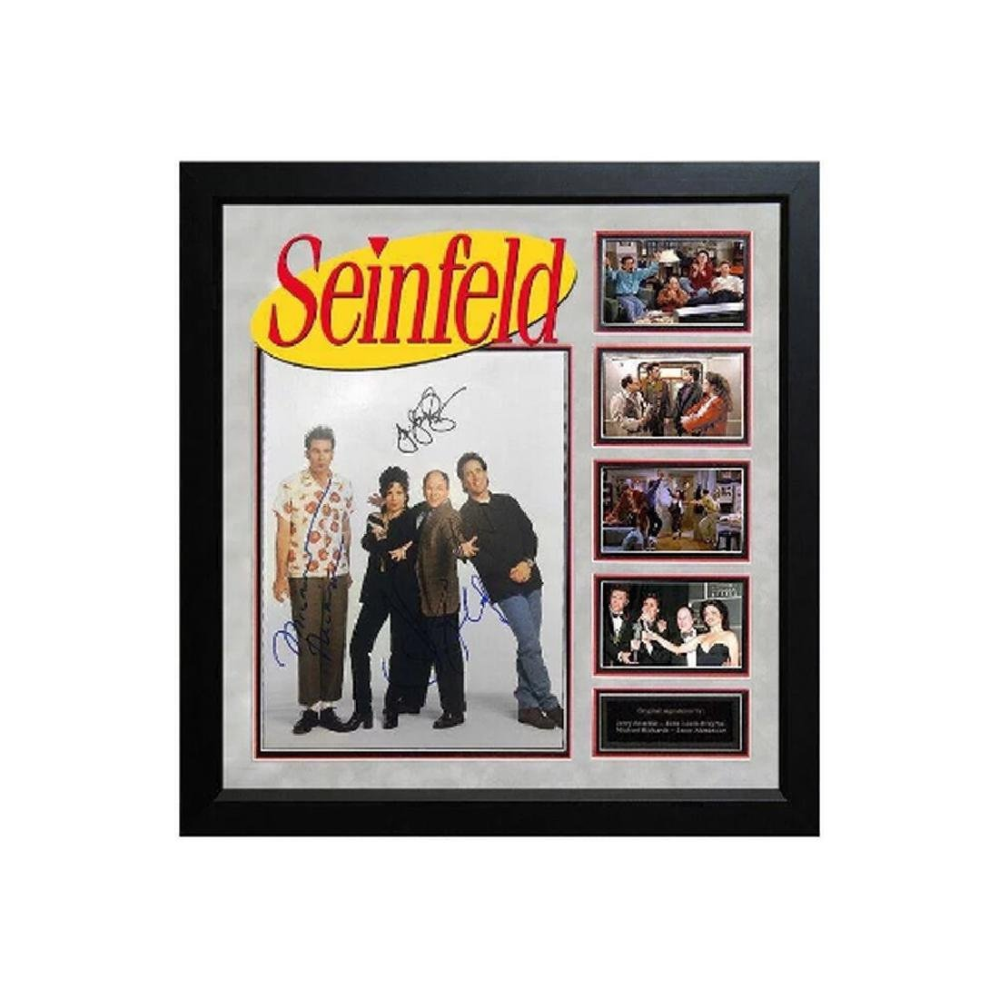 Seinfield - Signed by Cast - Custom Framed Photo