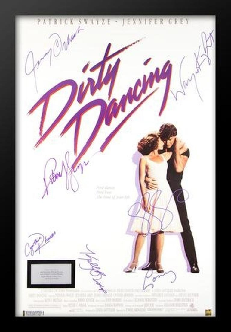 Dirty Dancing - Signed Movie Poster
