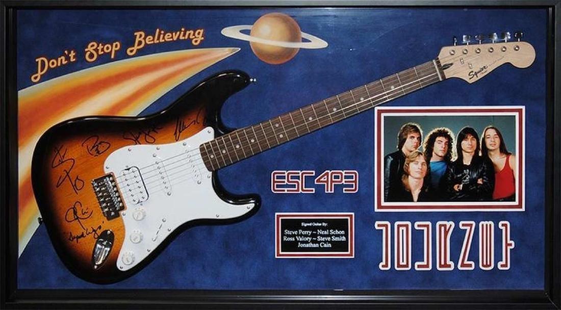 "Journey ""Escape"" Signed Guitar"