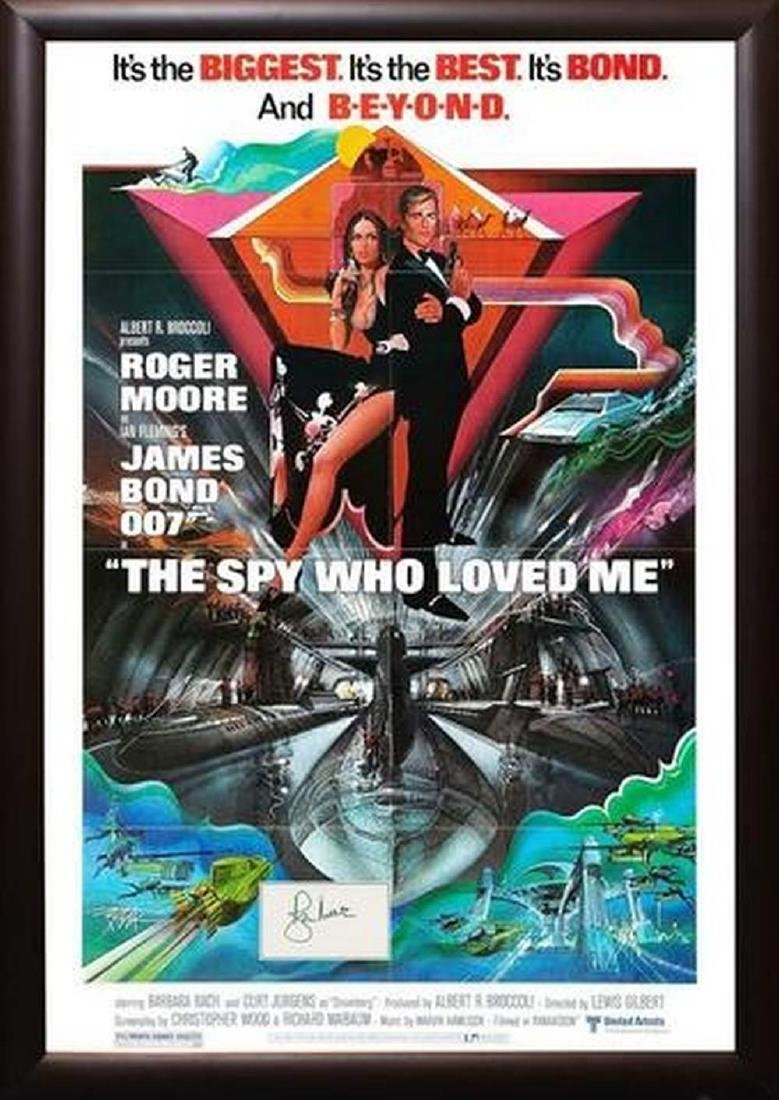 The Spy Who Loved Me - Signed Movie Poster