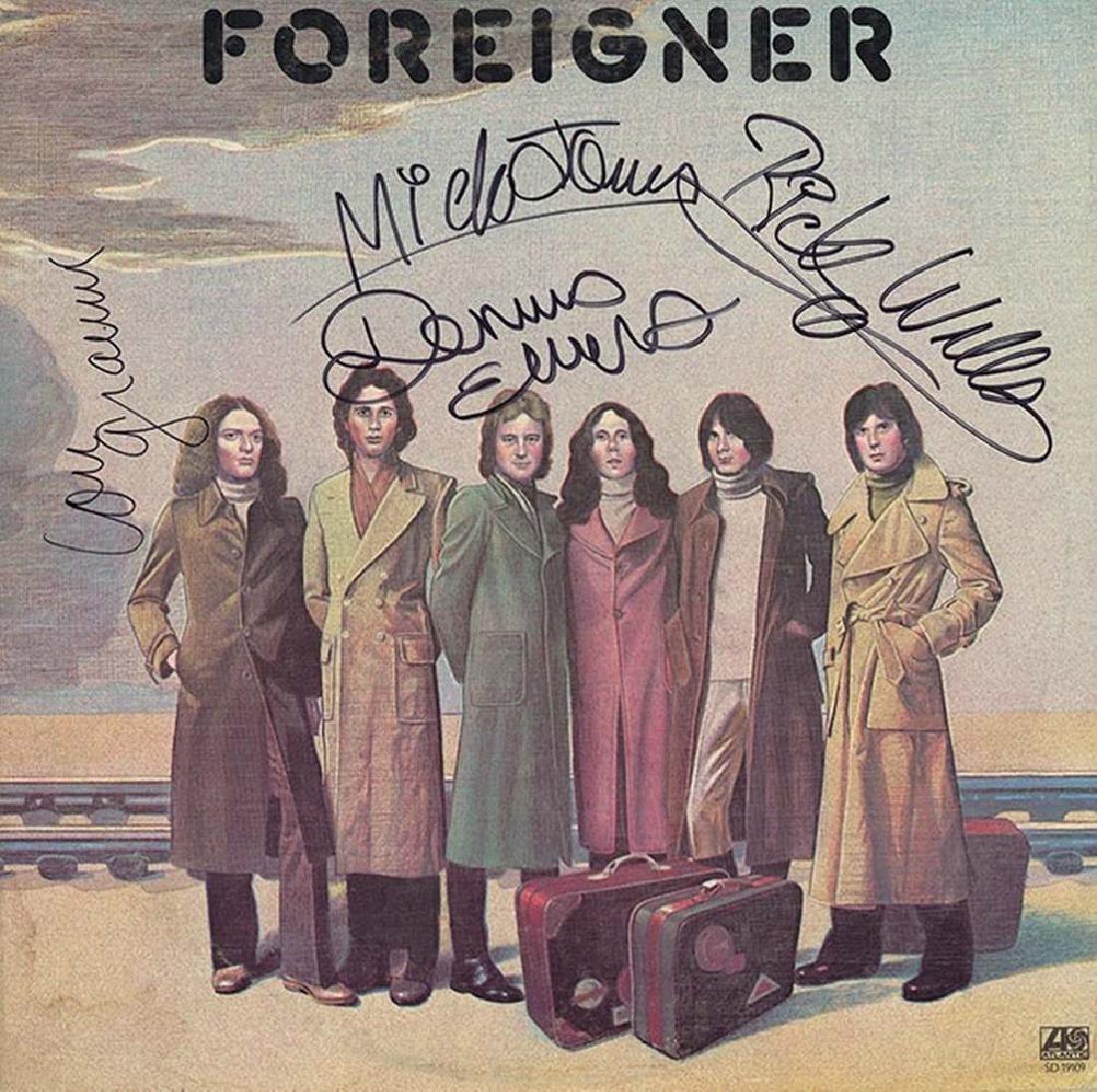 """Foreigner """"Foreigner"""" Album"""