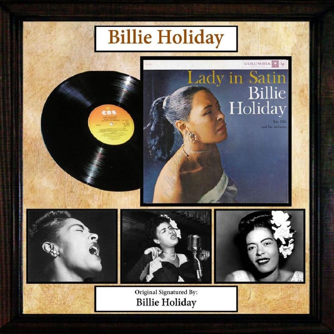 Billie Holliday Lady In Satin Signed Album