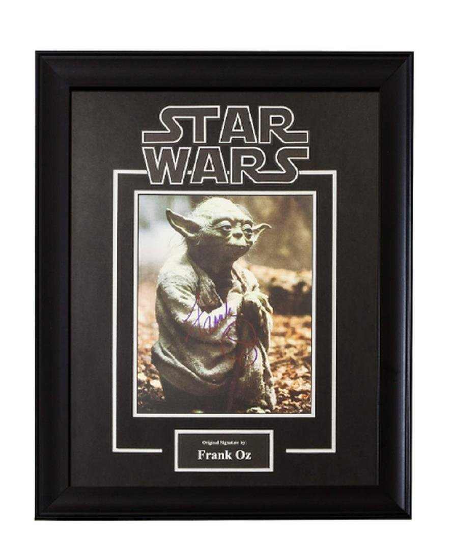 Star Wars - Yoda Signed by Frank Oz Movie Poster in