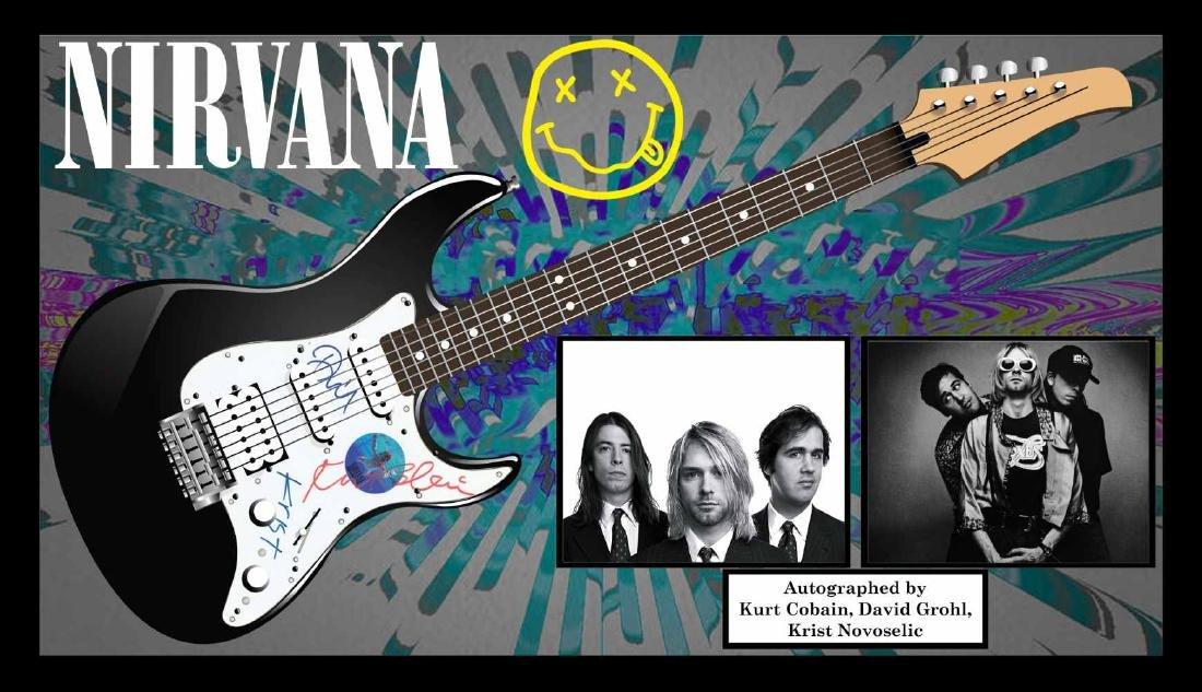 Nirvana Signed Guitar