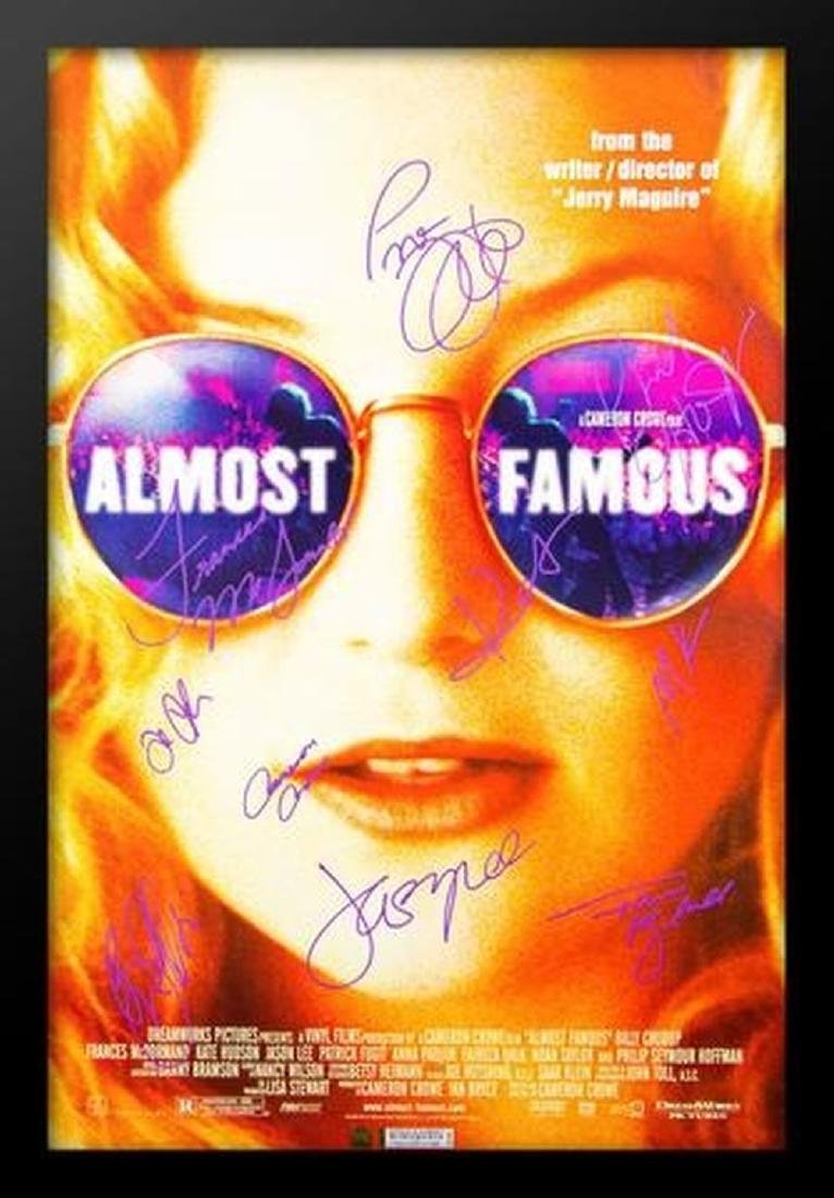 Almost Famous - Signed Movie Poster