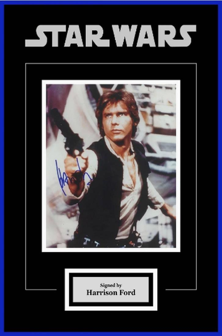 Star Wars - Signed Harrison Ford as Han Solo Movie