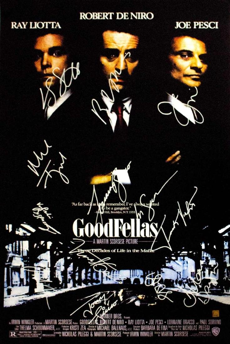 Goodfellas – Signed Movie Poster