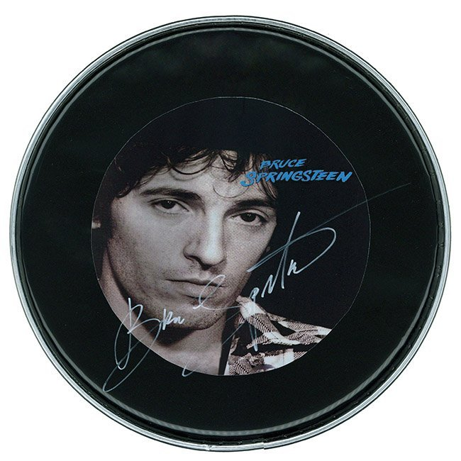 "Bruce Springsteen ""The River"" Drum Head"