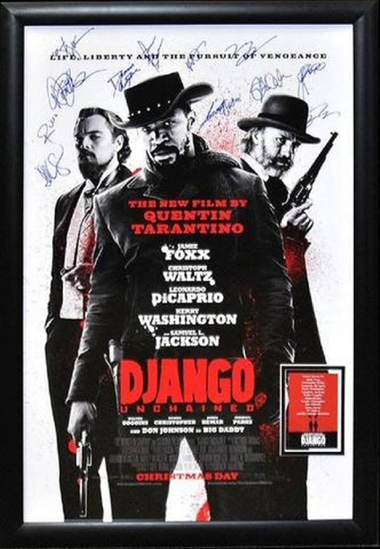 Django -  Signed Movie Poster