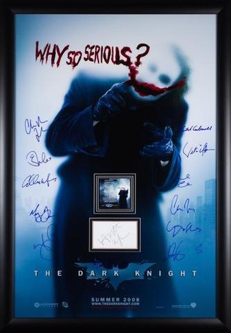 Why So Serious Batman The Dark Knight Rises - Signed