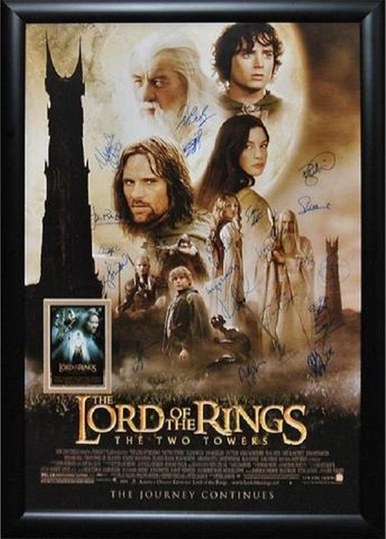 Lord of the Rings - The Two Towers - Signed Movie
