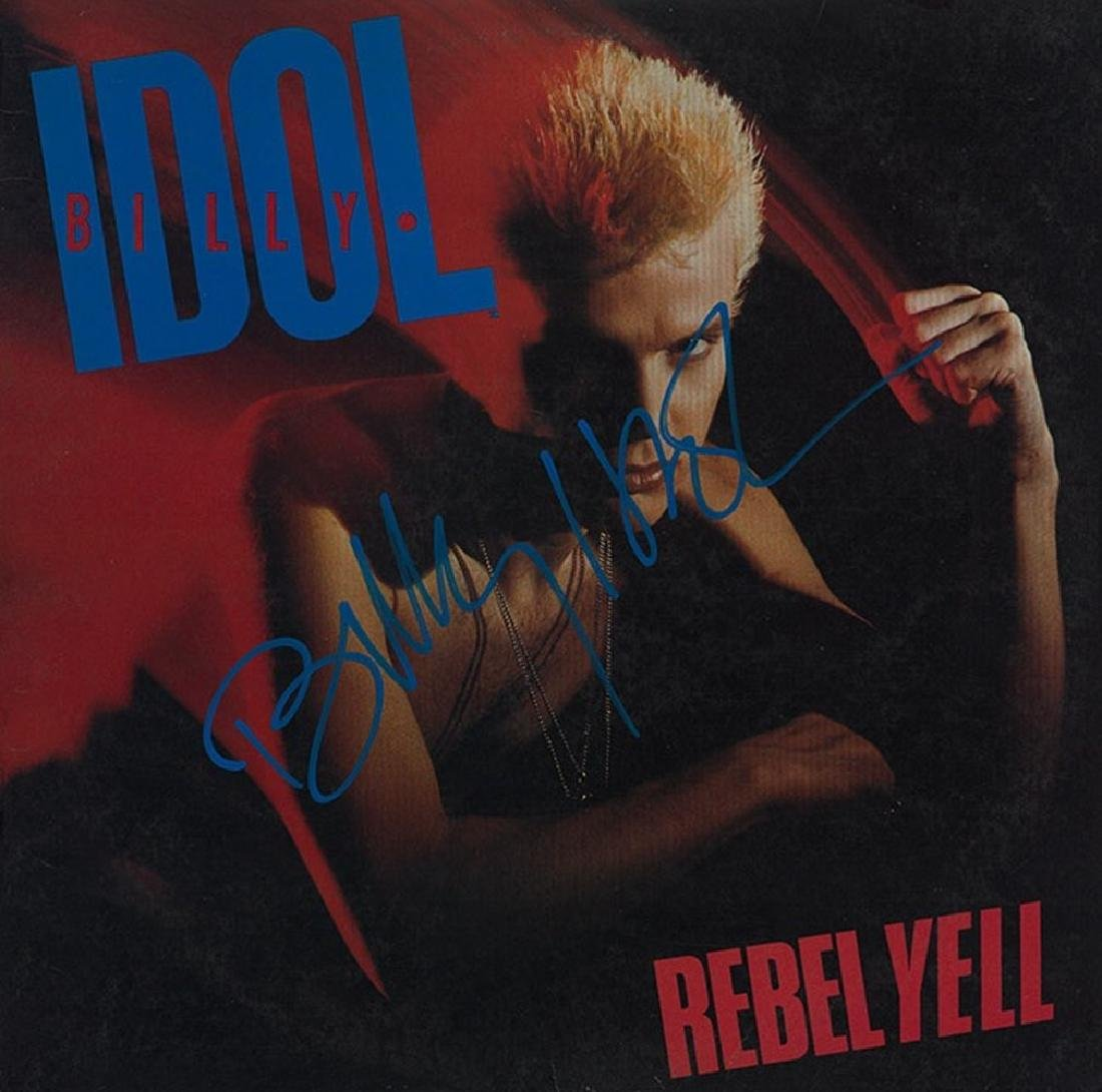 "Billy Idol ""Rebel Yell"" Album"