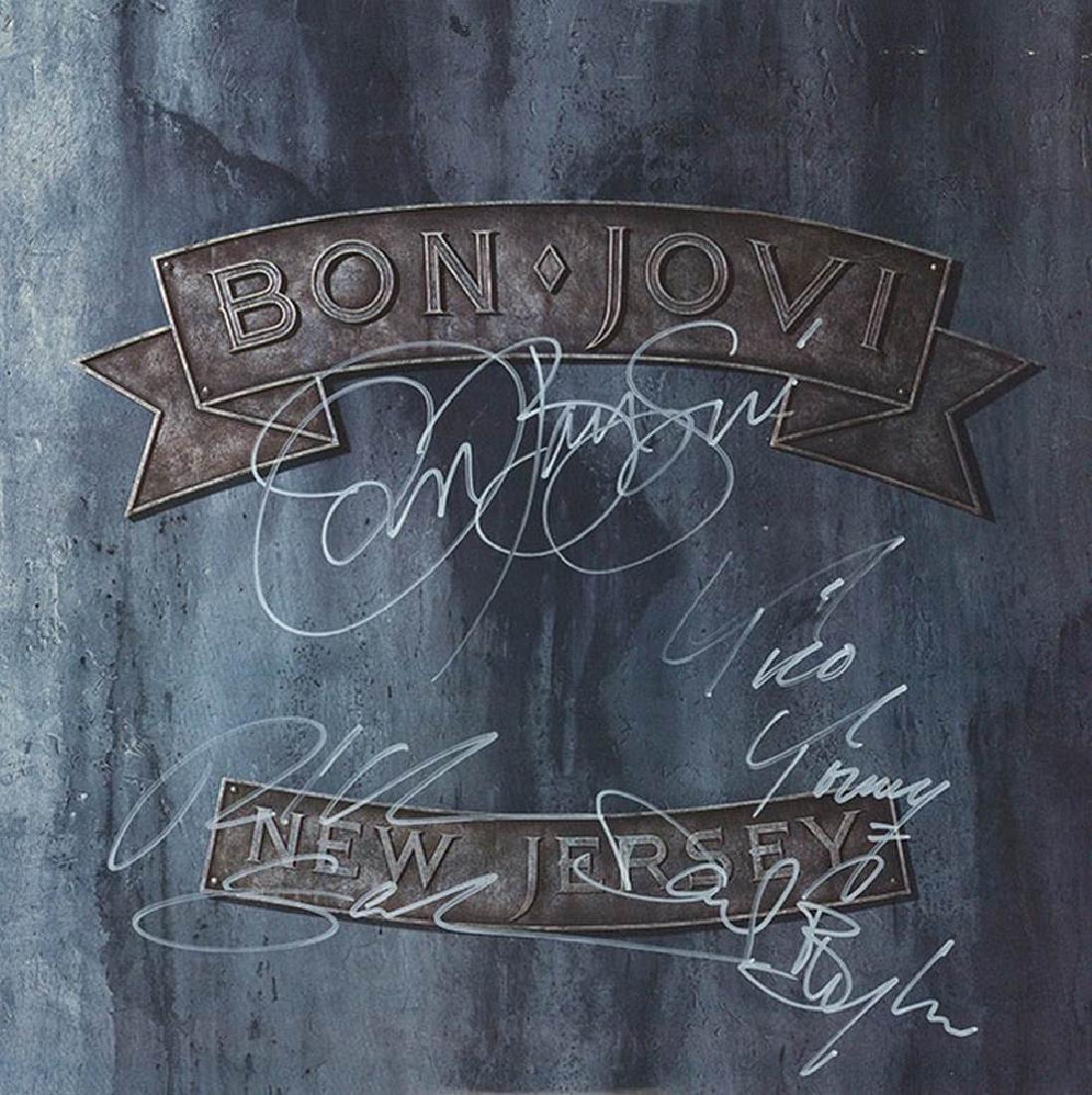 """Bon Jovi """"New Jersey"""" Album"""