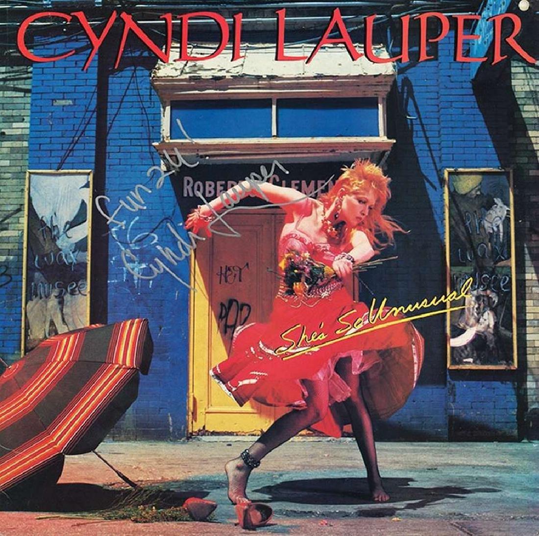 """Cyndi Lauper """"She's So Unusual"""" Album"""