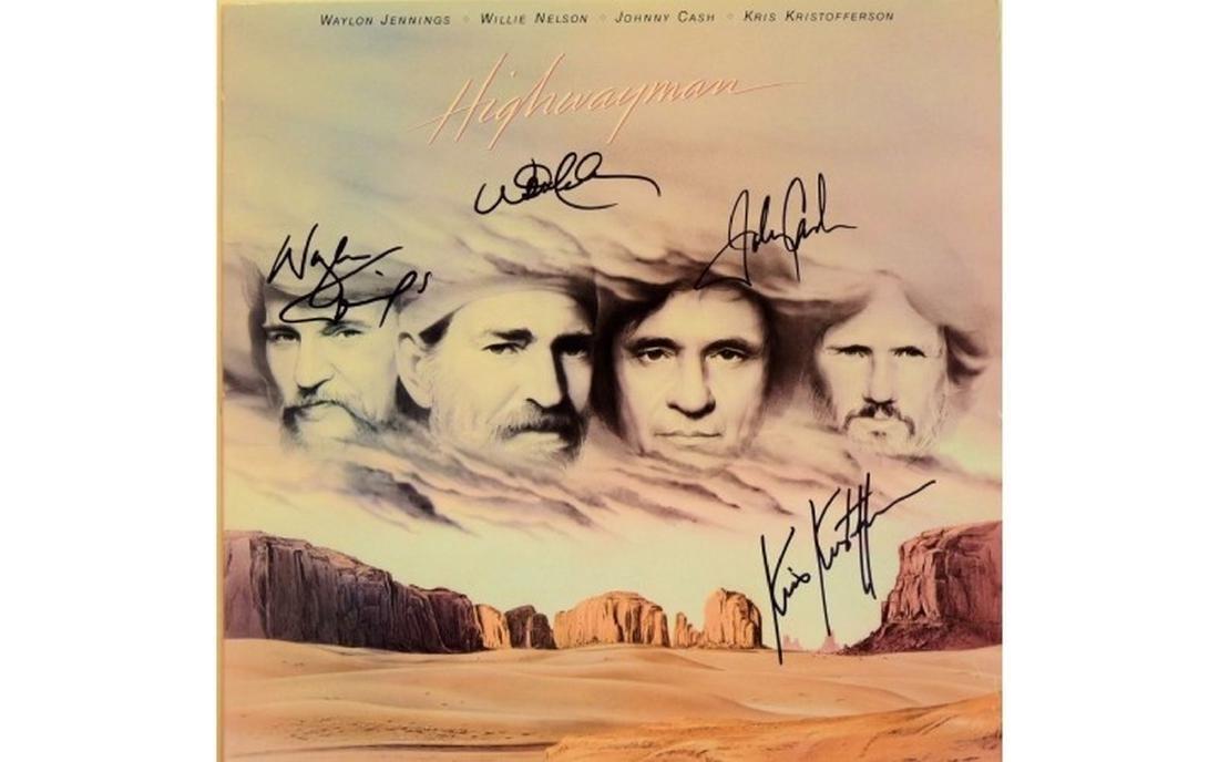 Highwaymen Highwayman Signed Album