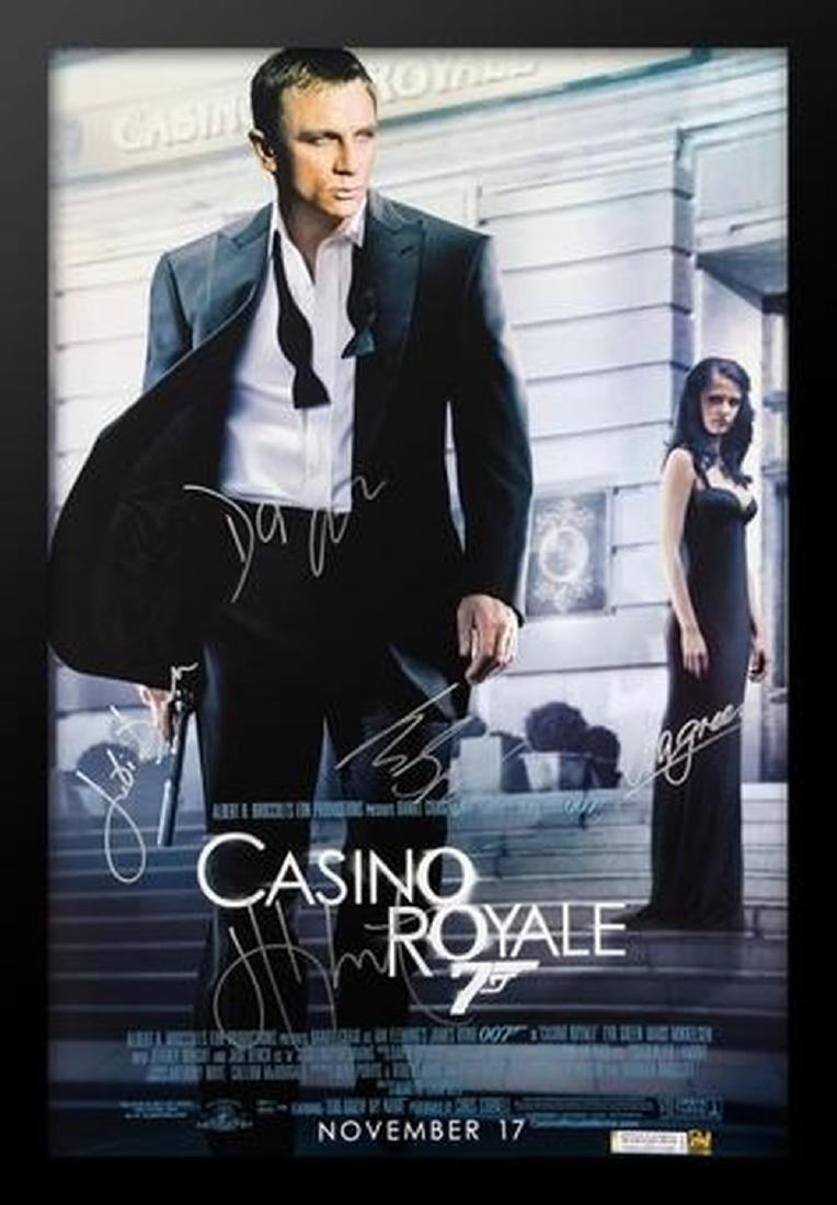 James Bond: Casino Royale - Signed Movie Poster