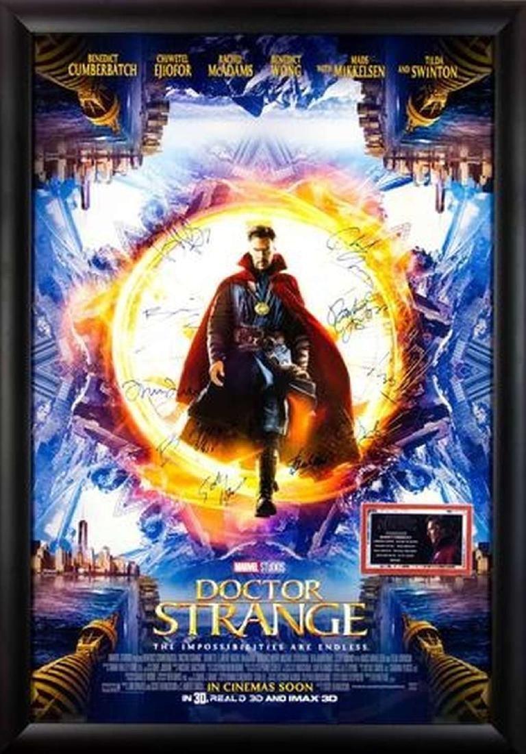 Doctor Strange - Signed Movie Poster