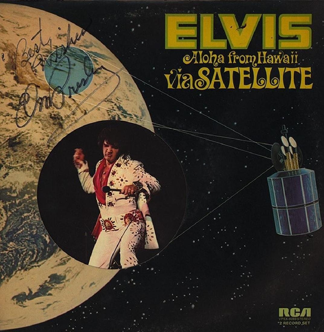 "Elvis Presley ""Aloha from Hawaii via Satellite"" Album"