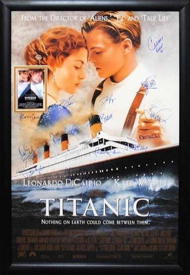 Titanic - Signed Movie Poster