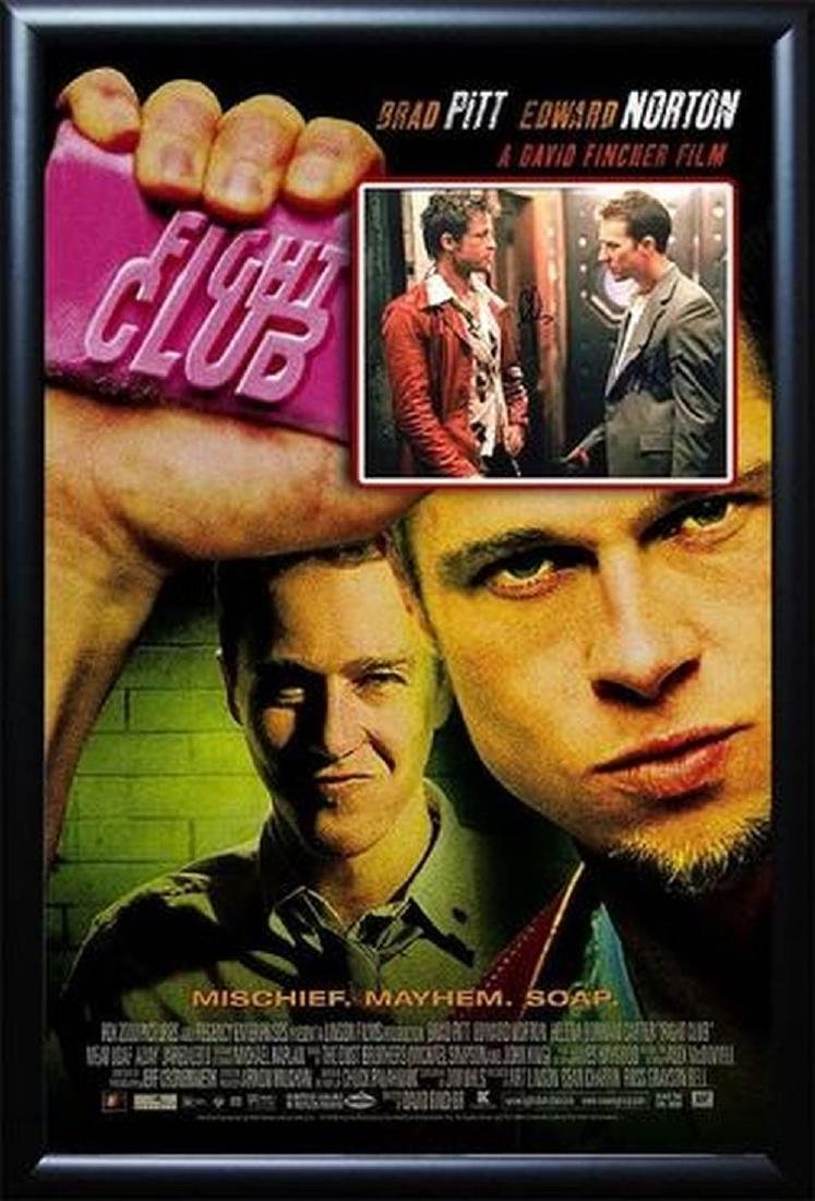 Fight Club -  Signed Movie Poster