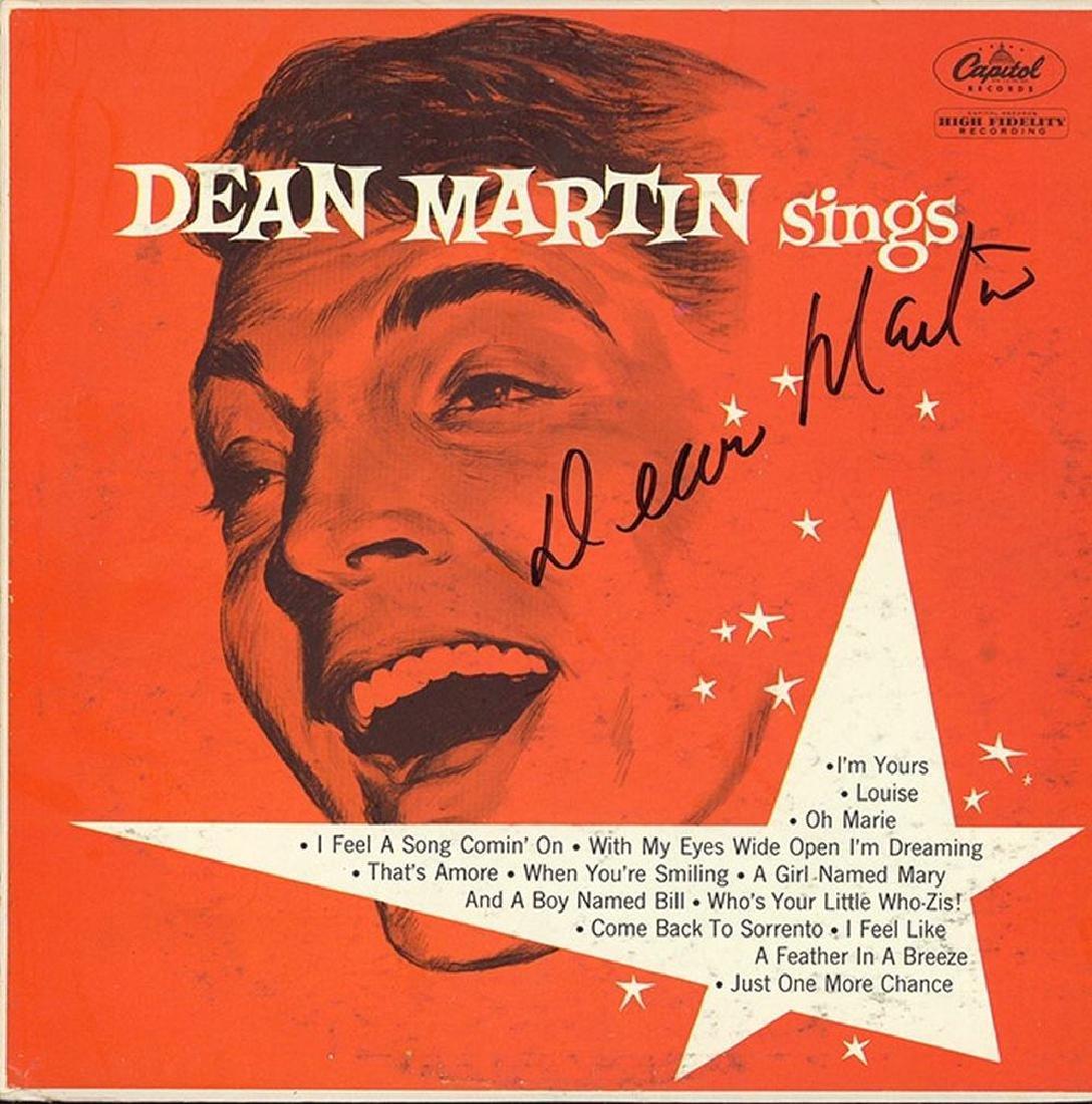 """Dean Martin """"Dean Martin Sings"""" Album"""
