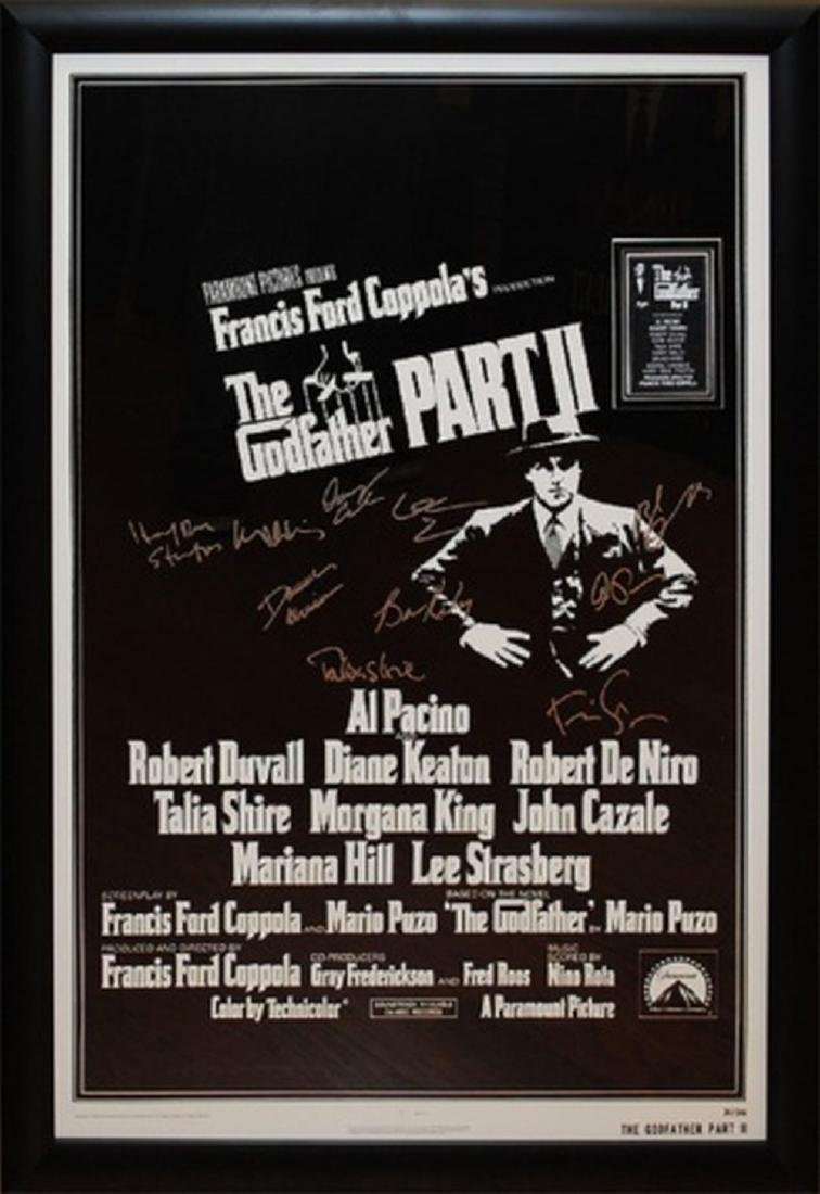Godfather ll - Signed Movie Poster