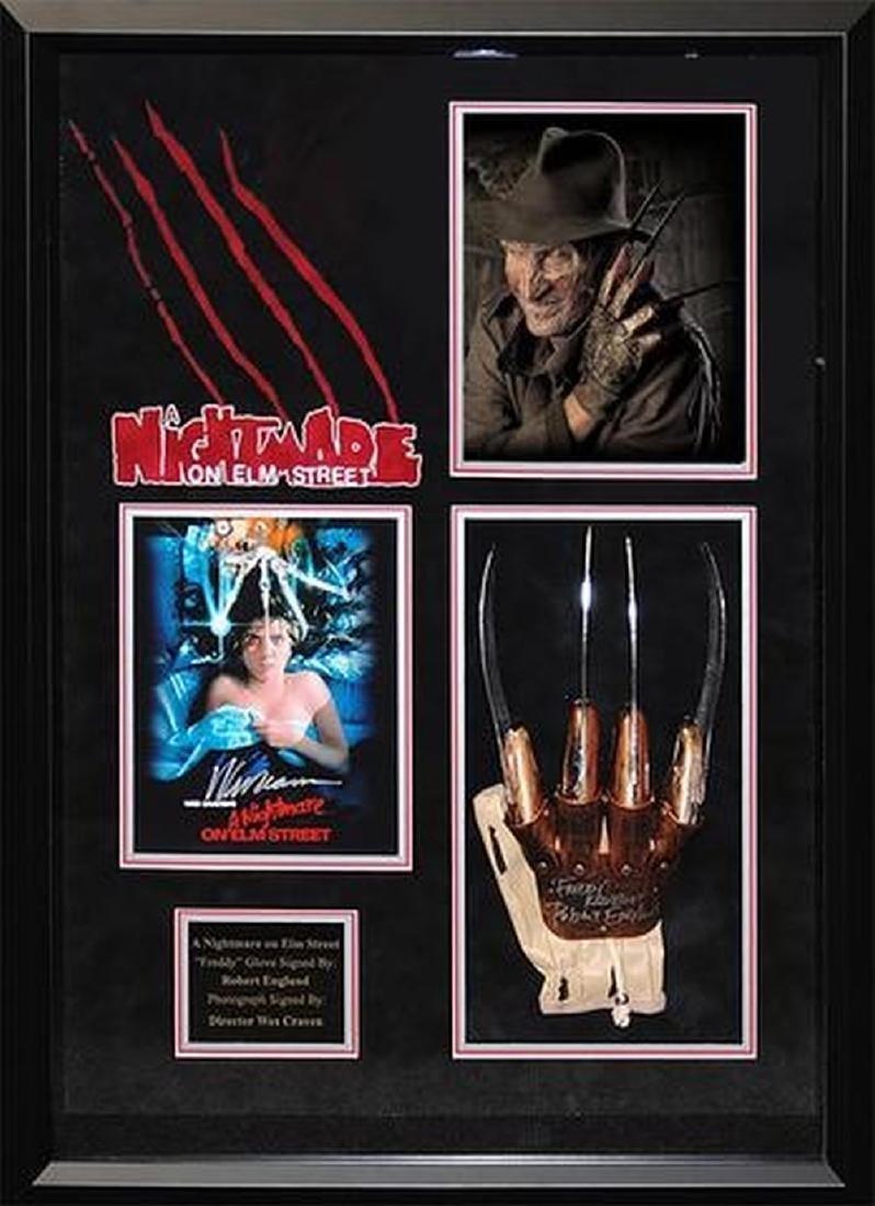 A Nightmare on Elm Street - Signed Freddy Krueger Glove