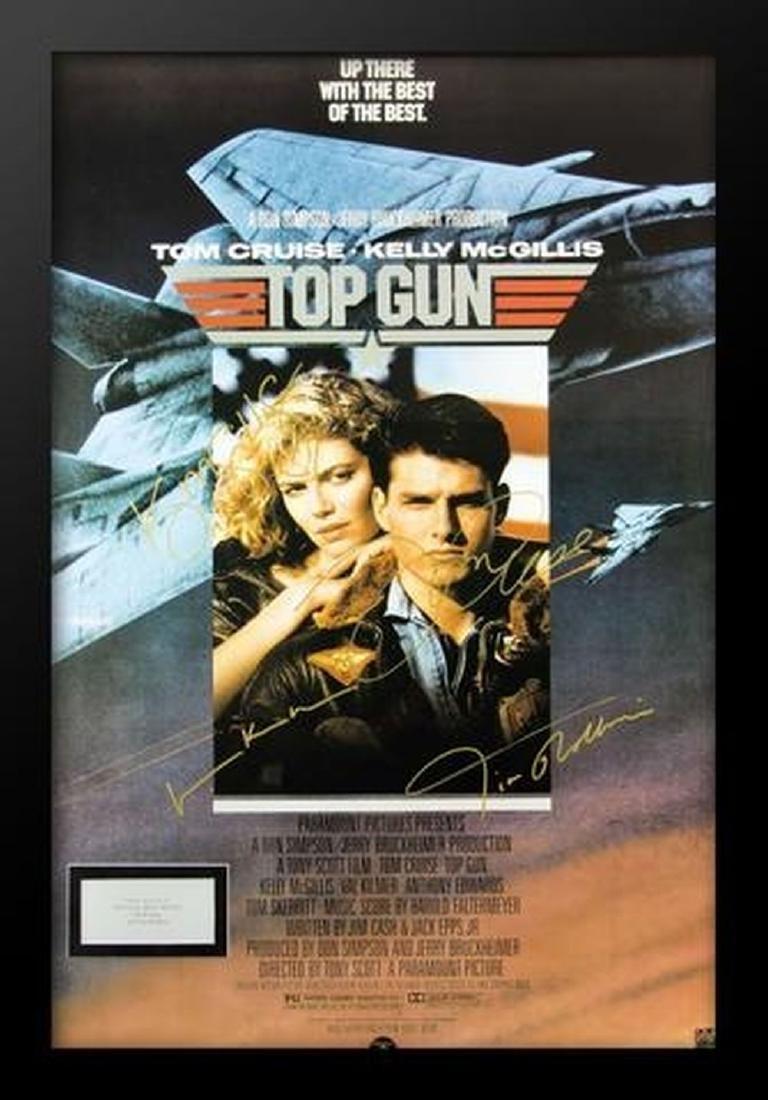Top Gun - Signed Movie Poster