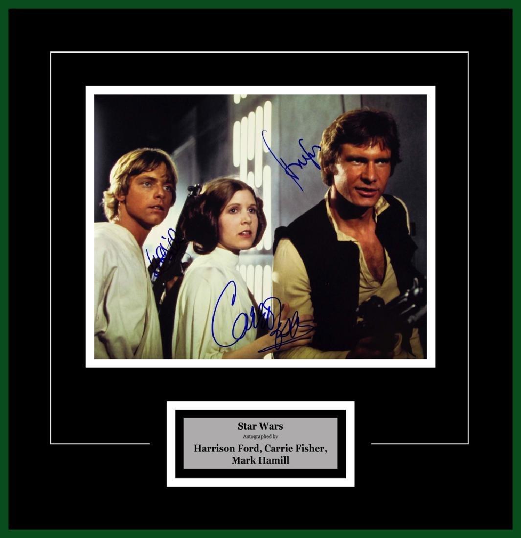 Luke Skywalker, Princess Leia, Han Solo, Artist Series