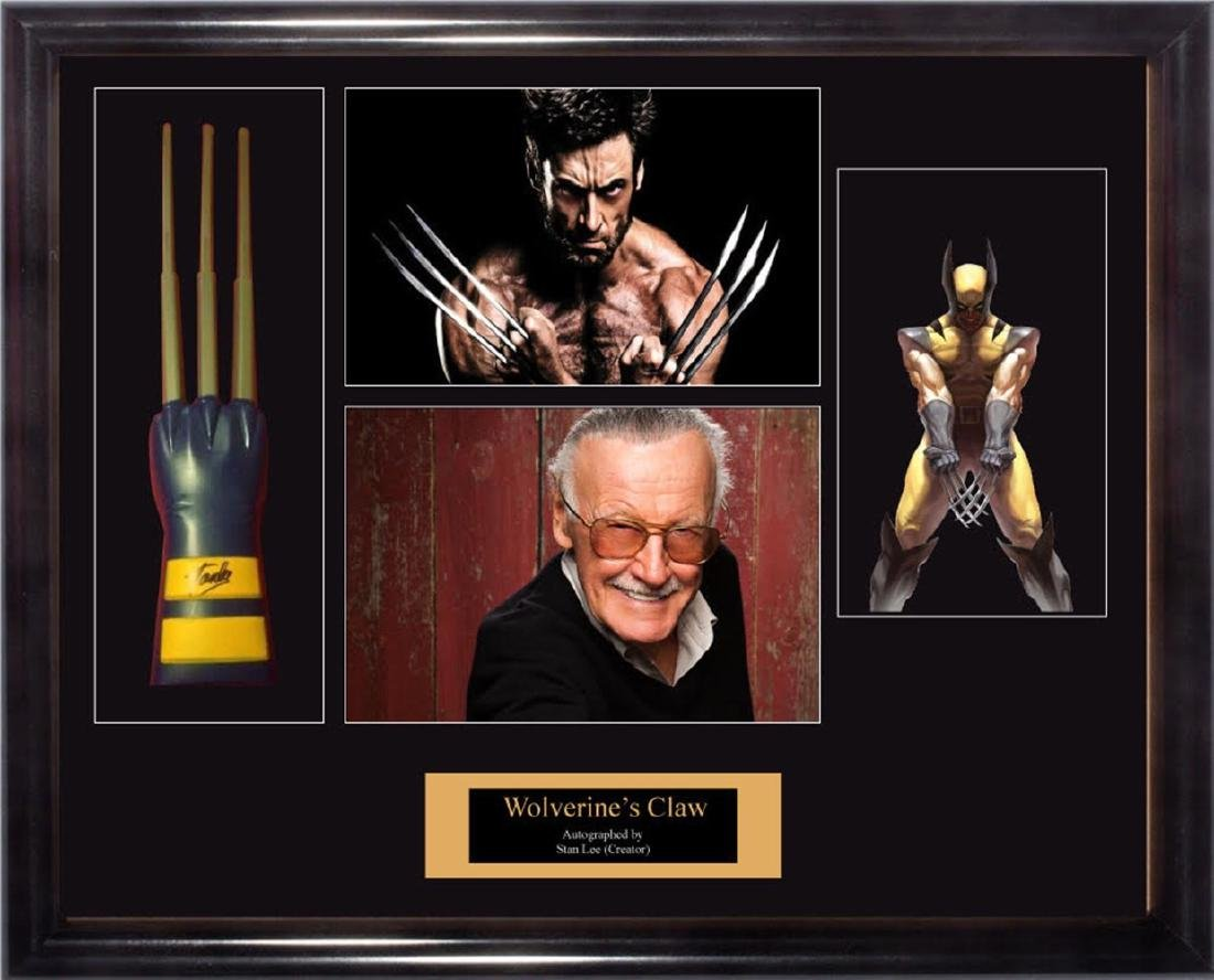 Signed Wolverine Claw