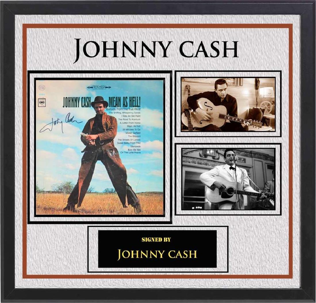 "Johnny Cash ""Mean As Hell"" Album"