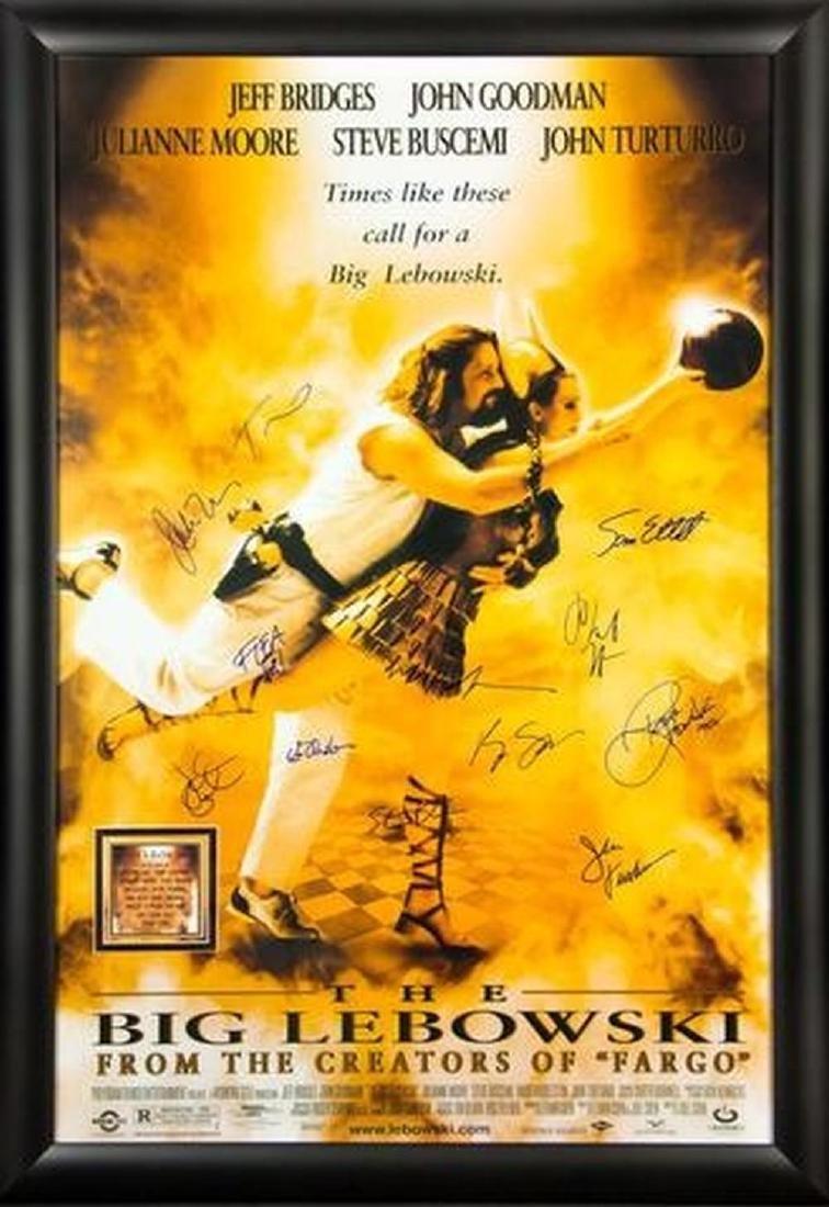 Big Lebowski - Signed Movie Poster
