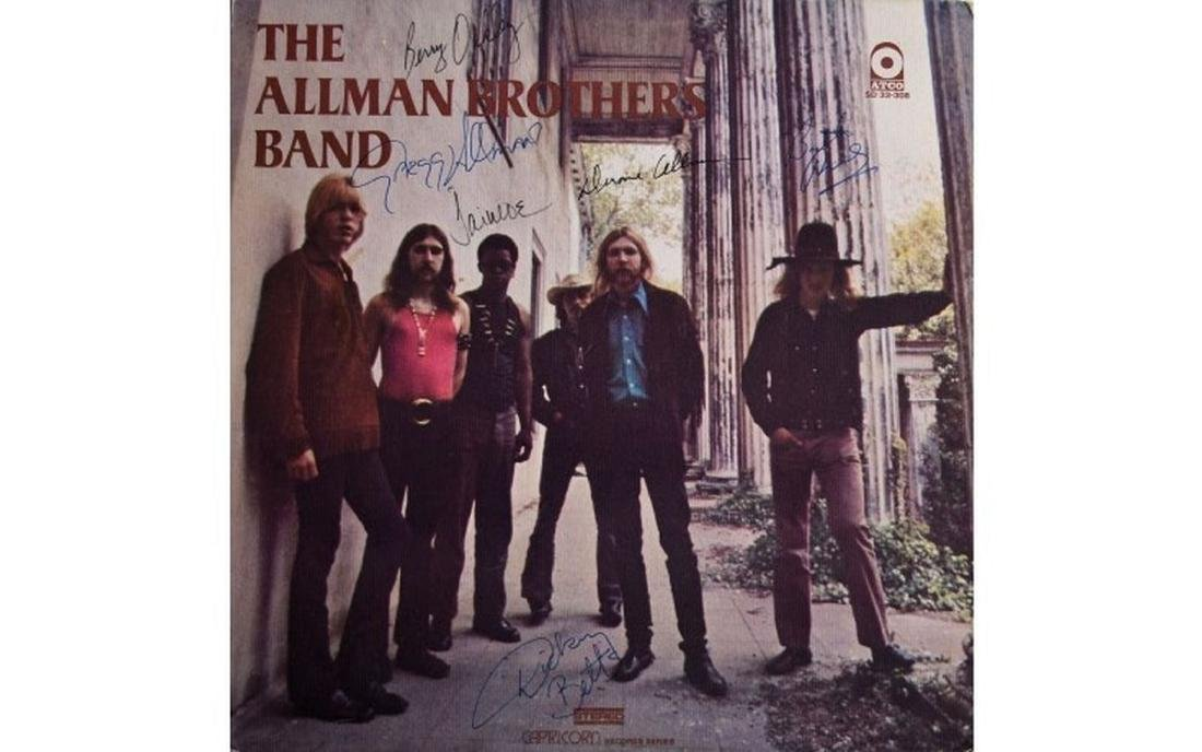 "Allman Brothers ""The Allman Brothers Band"" Signed Album"