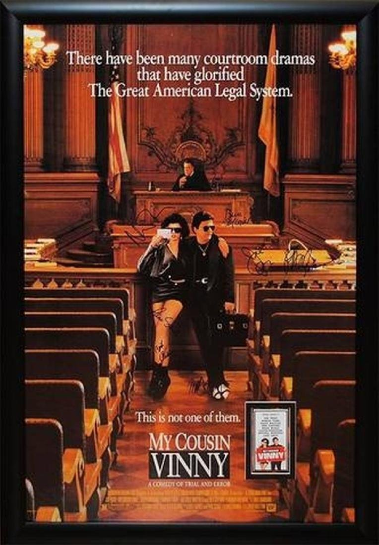My Cousin Vinny - Signed Movie Poster