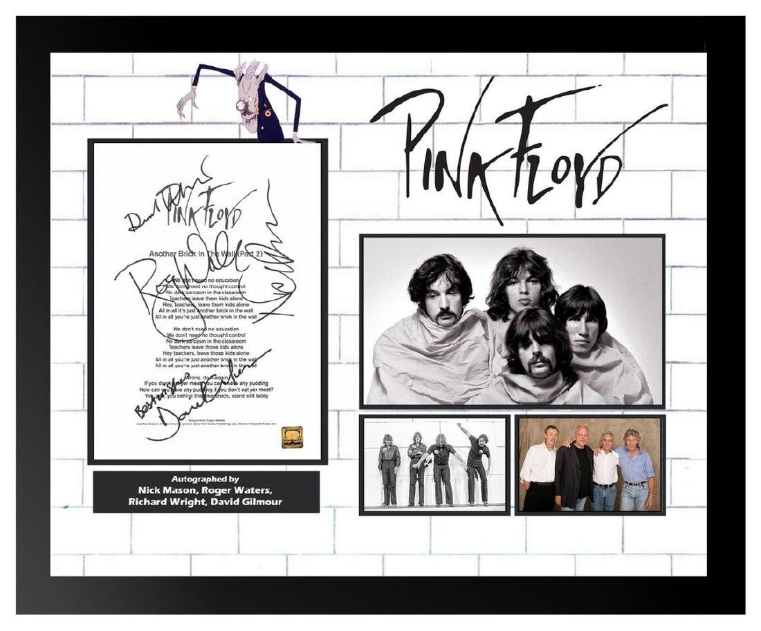 Pink Floyd Another Brick In The Wall Pt. 2 Signed