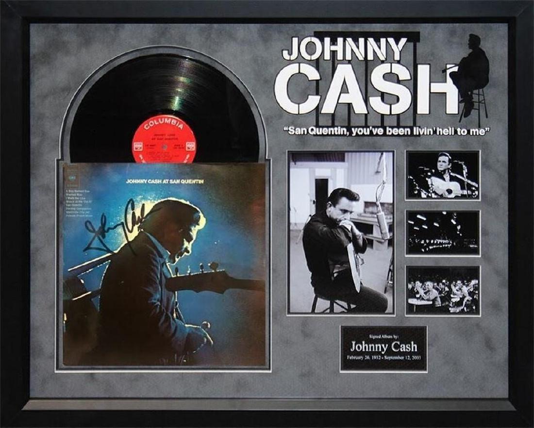 """Johnny Cash """"San Quentin"""" Album"""