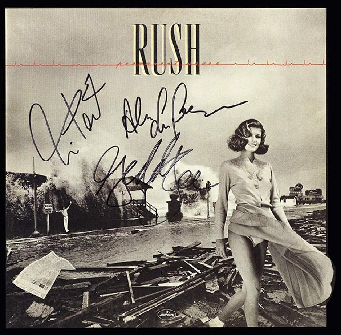 "Rush ""Permanent Waves"" Album"