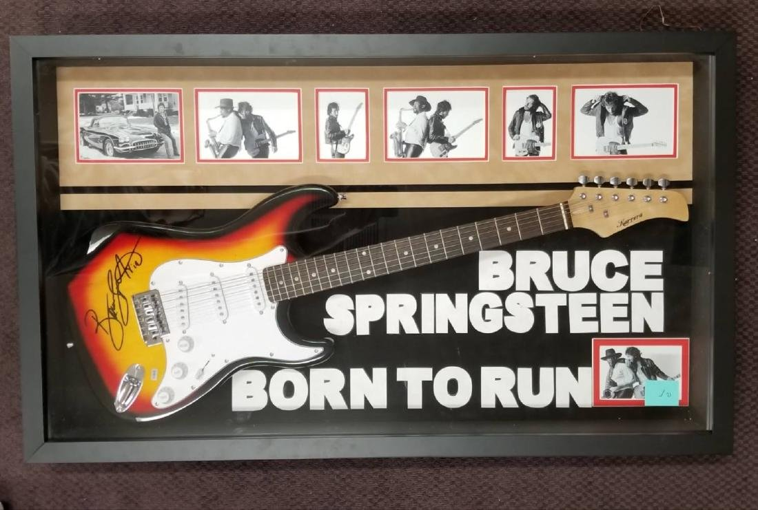 "Bruce Springsteen ""Born to Run"" Signed Guitar"