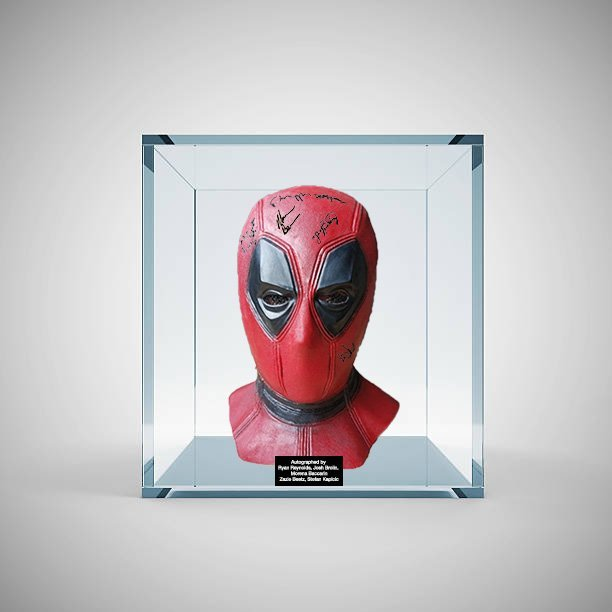 Deadpool Signed Mask