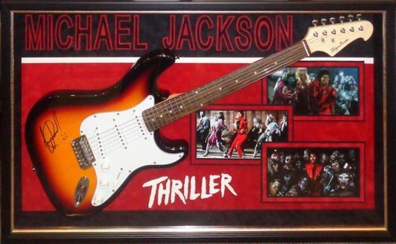 Michael Jackson Signed Guitar
