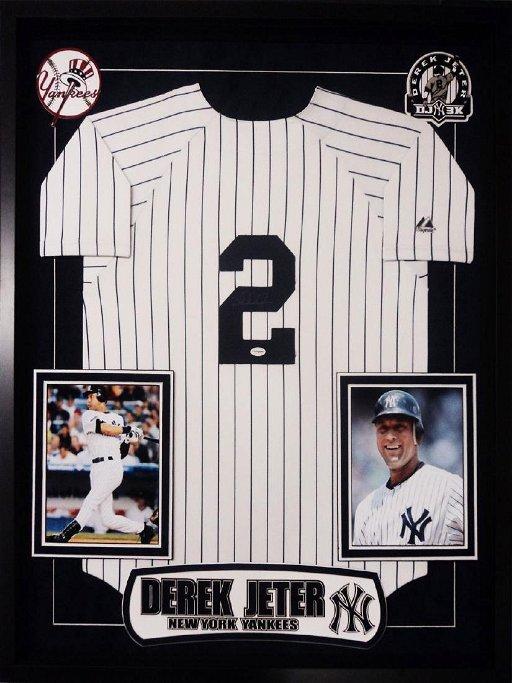 meet 9e179 47372 Derek Jeter Signed NY Yankees Jersey