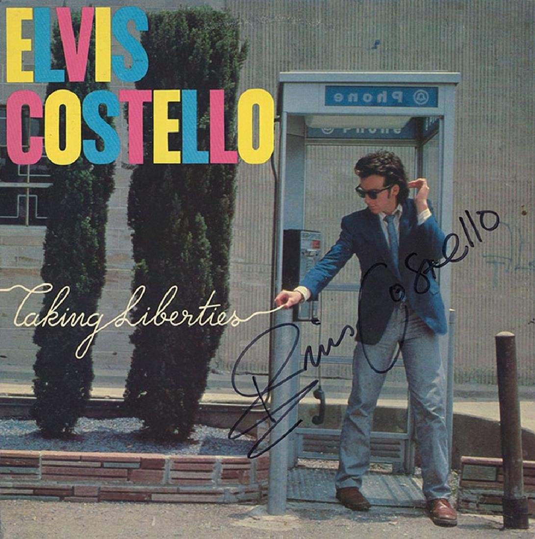 "Elvis Costello ""Taking Liberties"" Album"