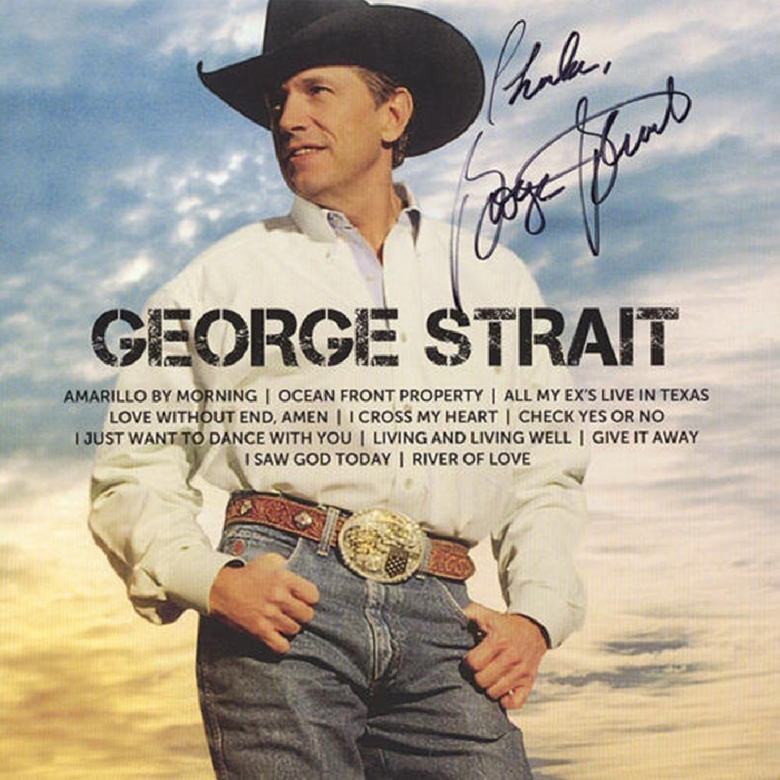 """George Strait """" Icon"""" Album"""