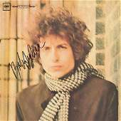 "Bob Dylan "" Blonde On Blonde"" Album"